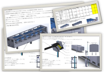 We can respond to request from rough ideas. Sanken Industry's concept of design